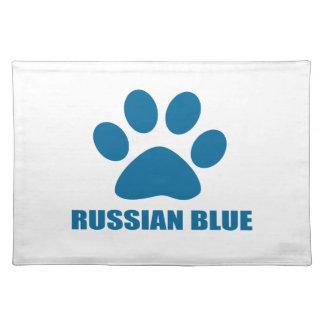 RUSSIAN BLUE CAT DESIGNS PLACEMAT