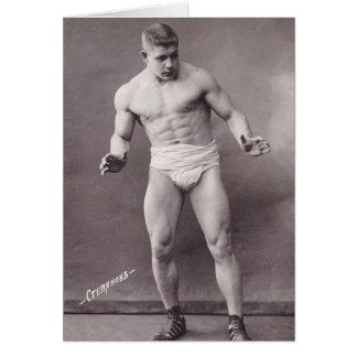 Russian Bodybuilder Card
