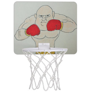 Russian Boxer Sketch Mini Basketball Goal Mini Basketball Hoop