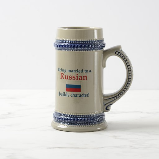 Russian Builds Character Mugs