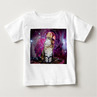 russian cat in space baby T-Shirt