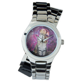 russian cat in space watches