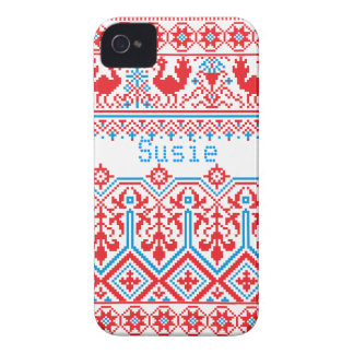 russian christmas blackberry bold cover case