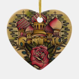 Russian Church Ceramic Ornament