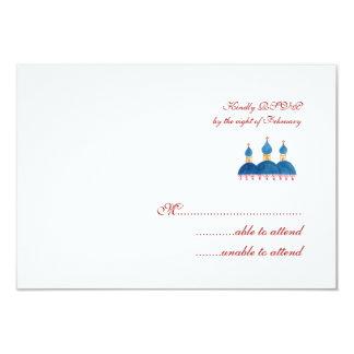 Russian Church RSVP Card