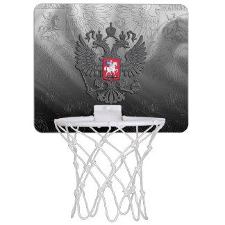 Russian coat arms mini basketball hoop