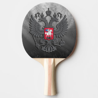 Russian coat arms ping pong paddle