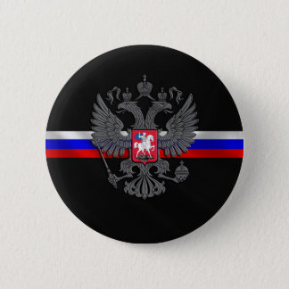 Russian Coat of arms 2 Inch Round Button