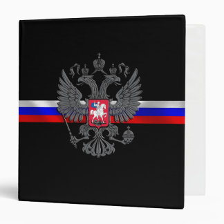 Russian Coat of arms 3 Ring Binders