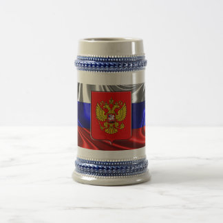 Russian Coat of arms Beer Stein