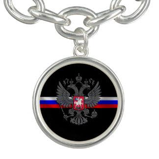 Russian Coat of arms Charm Bracelet