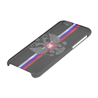 Russian Coat of arms Clear iPhone 6/6S Case