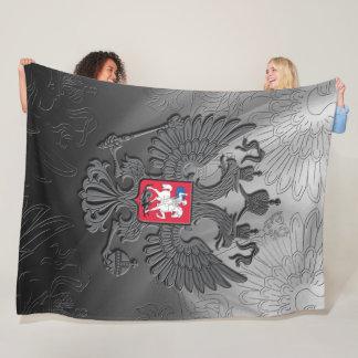 Russian Coat of arms Fleece Blanket