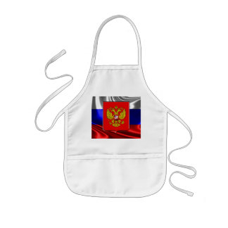 Russian Coat of arms Kids Apron