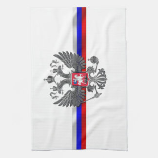 Russian Coat of arms Kitchen Towel