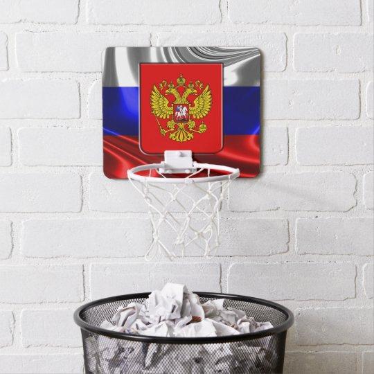 Russian Coat of arms Mini Basketball Backboard