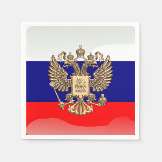 Russian Coat of arms Napkin