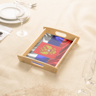 Russian Coat of arms Serving Tray
