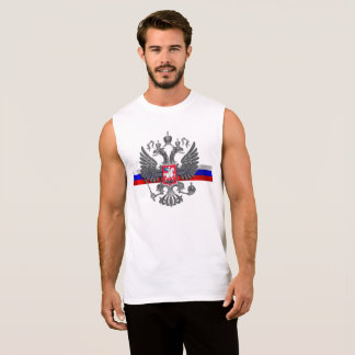 Russian Coat of arms Sleeveless Shirt