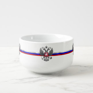 Russian Coat of arms Soup Mug