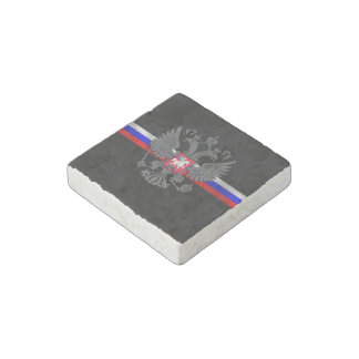 Russian Coat of arms Stone Magnets