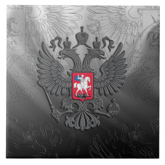 Russian Coat of arms Tile
