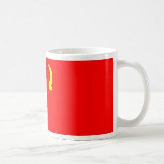 RUSSIAN COMMUNIST FLAG COFFEE MUG