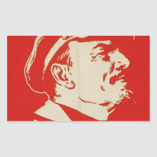 Russian Communist Leader Lenin Sticker