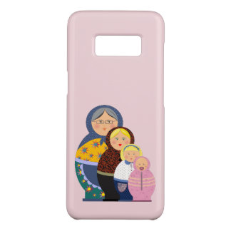 Russian Doll Matryoshka Life Stages Colorful Cute Case-Mate Samsung Galaxy S8 Case
