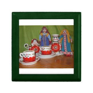 Russian Doll Tea Time Keepsake Boxes