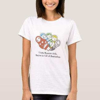 Russian Dolls | Colourful | T-Shirt