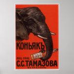 Russian Empire Cognac Advertising  1900 Posters