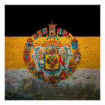 Russian Empire Flag Poster
