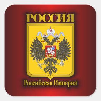 Russian Empire Square Sticker