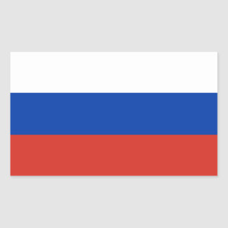 Russian Federation Flag Sticker