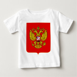 Russian Federation Official Coat Of Arms Heraldry Baby T-Shirt