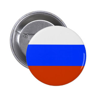Russian Flag 2 Inch Round Button
