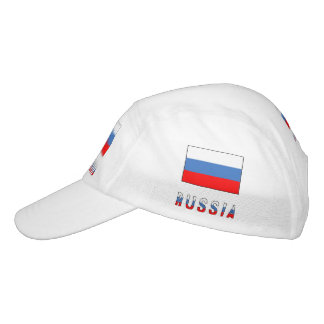 Russian Flag and Russia Hat