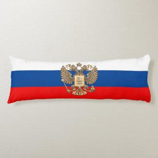 Russian flag body pillow