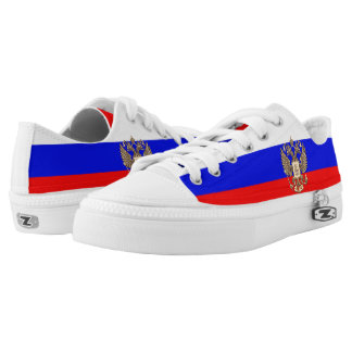 Russian flag Low-Top sneakers