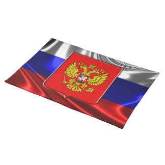 Russian flag placemat