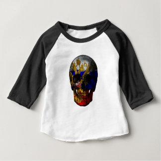 Russian flag skull baby T-Shirt