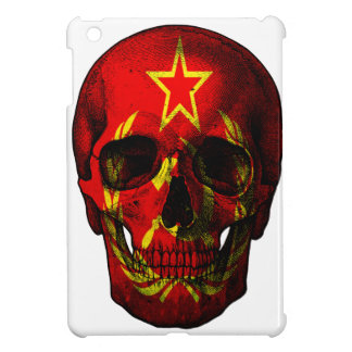 Russian flag skull case for the iPad mini