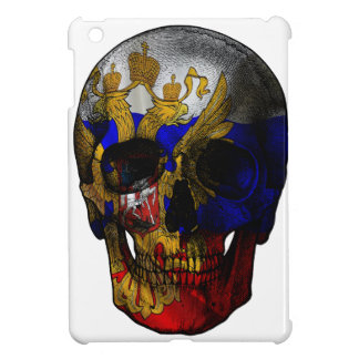 Russian flag skull iPad mini cover