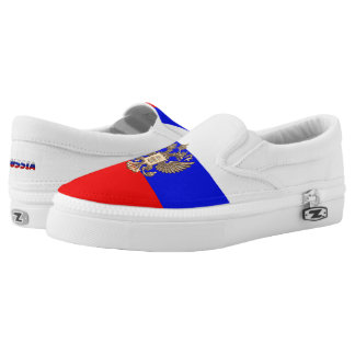 Russian flag Slip-On sneakers