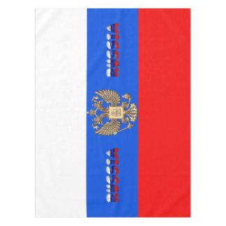 Russian flag tablecloth
