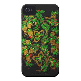 Russian folk art BlackBerry Case-Mate Case