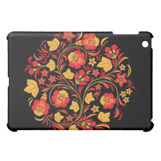 Russian Folk Art Khokhloma iPad Case