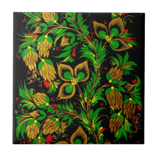 Russian folk art Tiles