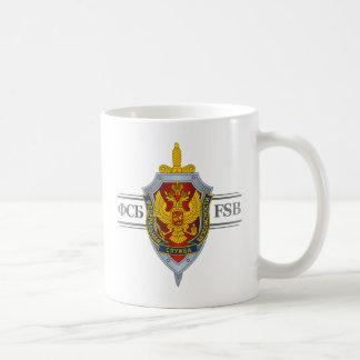 Russian FSB Basic White Mug